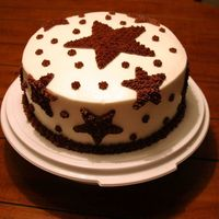 Seeing Stars Birthday Cake This is nothing fancy, but I thought it turned out cute anyway.