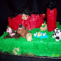 Farm  This is my daughter's entry for the Carolina Cake Show, 2008. She won FIRST PLACE in the 8 & under division, I'm SO proud of...