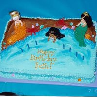 Little Mermaids Cake