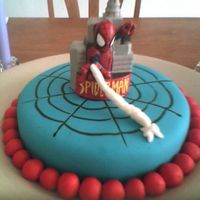 Spiderman Cake MMF spiderman cake ....you know the story