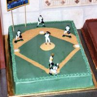Baseball Cake For Cub Scouts Picnic