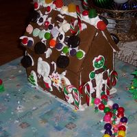 Gingerbread House We had a decorating party on Saturday and this is the one that my boys decorated. I made four total for kids to do and they all had lots of...