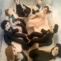 Wedding Party Figures Made these for a friend's wedding cake. My first attempt at creating figures using aine2's wonderful tutorial. These are the...
