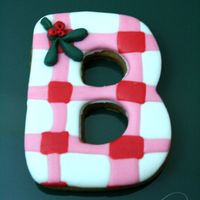 "Letter Cookie ""b"""