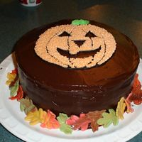 Mom's Halloween Birthday Cake My mother's birthday is the day before Halloween, and she always had Halloween cakes growing up, so when she visited me for her...