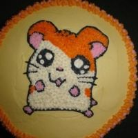 Hamtaro Ham Ham This Hamtaro cake was for my daughter's 11th birthday. She loves hamsters