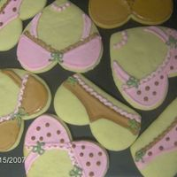 Bra And Panty Cookies!