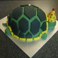 Turtle Cake I made this cake for my cousin-in-law; she found a video on youtube for this cake and asked me to make her one. The shell turned out much...