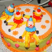 Derby Clown Cake