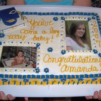 100_2225.jpg Graduation cake I made for my daughter, who by the way, is Valedictorianof her class.