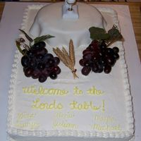 Lord's Table This is a cake I did for First Communion