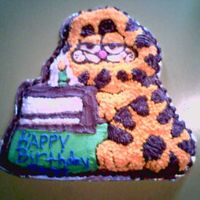 Garfield i made this cake for my father-in-laws 60th.. he loved it