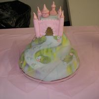 Castle Cake Fondant, carved cake similar to Debbie Browns from Enchanting birthday cakes.
