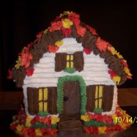 Autumn At Home This was my first attempt at the 3D house.