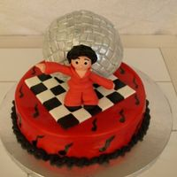 Pappa's Disco Cake This cake was for my father's birthday. He has always been a really great dancer and loved the disco era (had the fro and all). The...