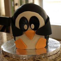 Penguin Cake! My daughter LOVES penguins and insisted that I make a penguin cake to go with her penguin party theme again this year. She loved it and so...