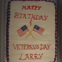Birthday And Veterans Day
