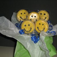 All Smiles Cookie Bouquet Made for someone who is always smiling and cheery!