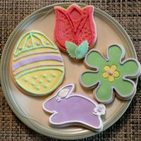 "Easter Cookies I ""came out of retirement"" because someone my partner works with asked if I was making cookies this year. I said ""sure, why..."