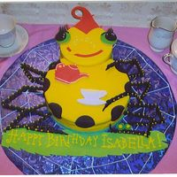 Miss Spider Birthday Cake Once upon a time I had a small custom cookie business and someone asked me to do a Miss Spider cake. Although I love doing cookies, I...
