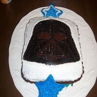 Darth Vader This was really for my brother's birthday but my daughter insisted I make it for him since Star Wars is his favorite. Darth Vader is a...