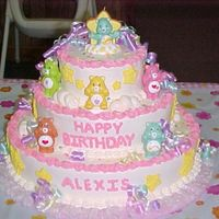 Care Bear Cake   I did this cake for my Grand-daughters First Birthday. Thanks for all the ideas I got from here.
