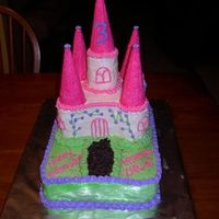 Castle Cake Castle cake for a 3rd birthday! Thanks to all of you out there for the inspiration.