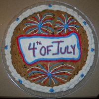 4Th Of July Cookie