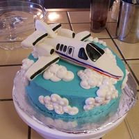 The Citation Jet A friend of mine and my husband's works for the FAA so I made him this cake and he absolutely loved it. It is his favorite jet. My...