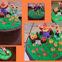 Pumpkin Patch Made this for my husband's grandmother's bday