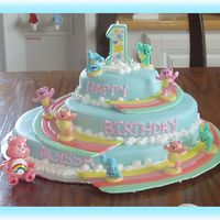 Care Bears Wilton 2005 book. This was a fun cake.