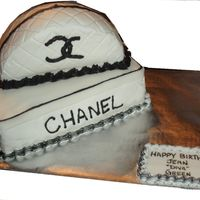 Chanel_Shoe_Box_Cake.jpg made for a co-worker at the last minute. Thanks to cakesbyallison with the last minute notice to help. TFL