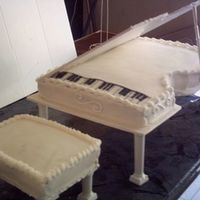 Piano Made this for a friend whose father was a musician.