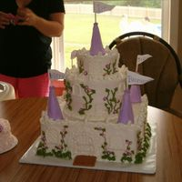 Princess Jilli This was a 1st. b.day cake for a very special little girl,
