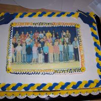 2Nd 6Th Grade Graduation Cake