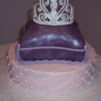 Princess Pillow Cake I have never carved a cake before (that worked), so this was all new to me. I have never done a tiara either. Thank you to the authors of...