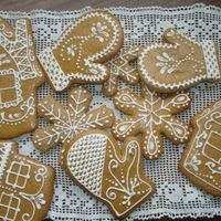 Gingerbread Cookies Inspired by CC-member Kraach.Thank you!