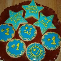 Father Day Cookies