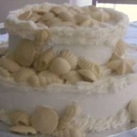 Another Shell Wedding Cake!