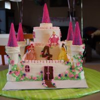 Princess Castle Cake This is the cake I did for my twin daughter's 4th birthday. They wanted a princess castle cake. I took many of the ideas from this...
