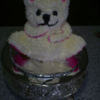 Tedd Bear All buttercream frosting