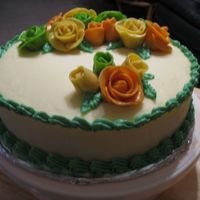 Mountain Dew Cake   Mt. Dew diet soda cake with Mt. Dew-flavored bc. Fruity Tootsie Roll roses.