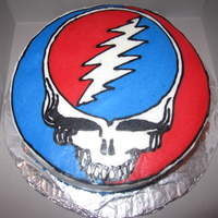 Grateful Dead Steal Your Face Cake My favorite band of all time is the Grateful Dead, i have always searched for GD cakes on here to see what would come up. All of a sudden...