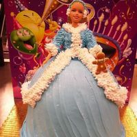 Barbie In Blue Winter Coat Another one of my doll cakes-this one was for display at work last winter. I am looking forward to this fall/winter. Summer sure has been...