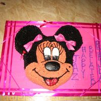 Minnie,mouse trying to post a clearer pics. had fun arranging the ribbions, made the design as i went alone. thanks for looking