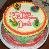 13Th Birthday Fiesta!! I had so much fun making this cake. It was for my best friend's daughter's 13th birthday! She had a Mexican Fiesta theme. It'...