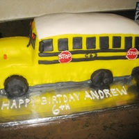 School Bus   made for my grandsons 6th birthday