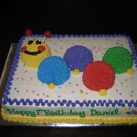 Baby Einstein Cake i used medium sized prep bowls (from pampered chef) to bake the caterpillar body parts when i couldn't locate the mini-ball pan. the...