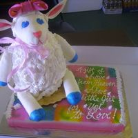 3D Lamb Cake This is a 3d lamb cake that I got inspiration from kitagirl's cake (I know mine doesn't do hers justice). Thank you kitagirl. It...