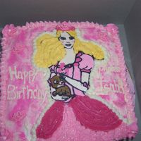 Princess Geneveve Cake My 1st attempt at FBCT =( It was hard !! I really didn't like how she turned out. Such is life. Oh I used cream cheese icing for the...